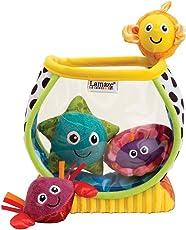 """Lamaze Babyspielzeug """"Mein erstes Aquarium"""" mehrfarbig - hochwertiges Kleinkindspielzeug - Lernspielzeug - fördert Tastsinn und Sehvermögen Ihres Kindes - ab 6 Monate"""