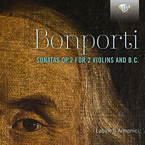 Bonporti: Sonatas, Op. 2 for 2 Violins and B.C.
