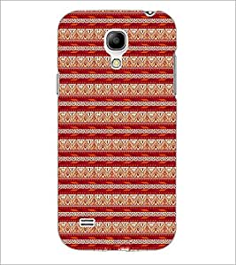 PrintDhaba Tribal pattern D-1984 Back Case Cover for SAMSUNG GALAXY S4 MINI (Multi-Coloured)