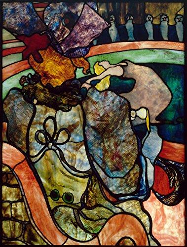 Spiffing Prints Henri Toulouse Lautrec - at The New Circus Papa Chrysanthemum - Extra Large - Matte Print