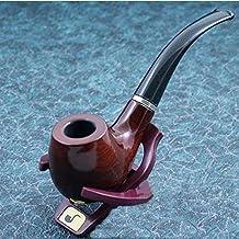 Durevole di legno fumo di tabacco tubo con il basamento e la copertura Regalo New - Durevole Tabacco Da Pipa