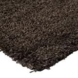 Monbeautapis 600111 Imperial Polypropylene Shaggy Rugs 110 X 60 cm, taupe, 110x60x10 cm