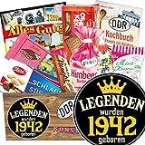 Legenden 1942 ++ Ost Süßigkeiten ++ Geburtstagsideen für Männer
