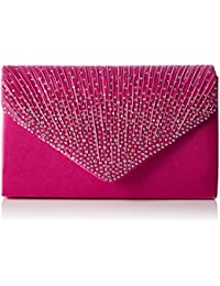 Amazon.co.uk: Pink - Clutches / Women's Handbags: Shoes & Bags