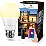 LE Bombilla LED Inteligente WiFi Ajustable,Smart WiFi E27 9W = 60W, Control Remoto y Control de Voz, Fonciona con Alexa y Goo