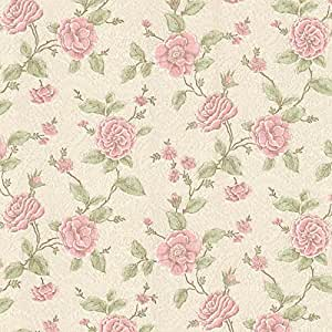 bhf 2601 20821 devon papier peint floral rose bricolage. Black Bedroom Furniture Sets. Home Design Ideas