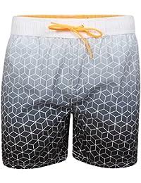 Mens Tokyo Laundry Kokomo Geometric Print Swim Trunks Beach Surf Board Shorts