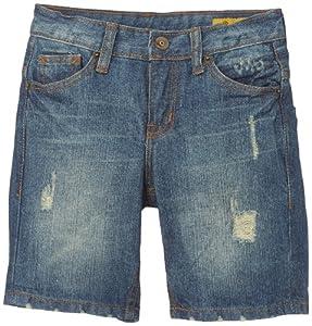 Petrol Industries - Pantaloni corti Short Denim, bambino