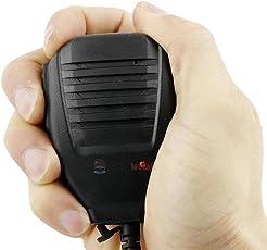 AST Works 1pc Handheld UV-5R V2+ BF-F8+ WP970 888s Speaker Mic Walkie Talkie Radio Tool