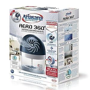 Ariasana Aero 360° kit Assorbiumidità in Plastica Riciclata, Deumidificatore non Elettrico e Riciclabile, Assorbi… 11 spesavip