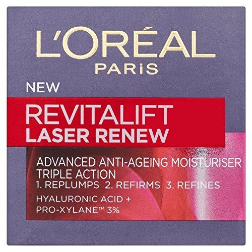 L'Oréal Paris Revitalift Laser X3 Renouveler avancée anti-âge hydratant (50 ml) - Paquet de 6