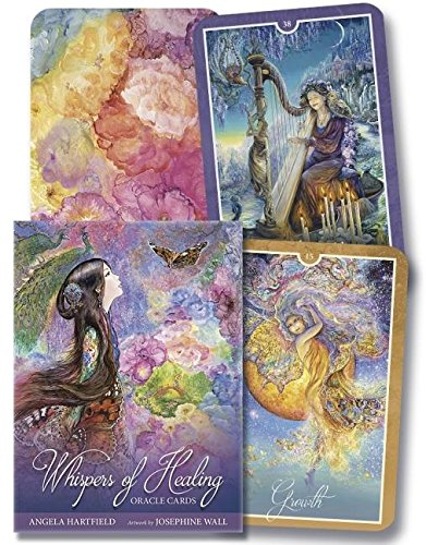 Whispers of Healing Oracle Cards por Angela Hartfield
