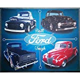 hotrodspirit - Plaque Ford Pick up F100 Trucks Deco Garage en tole Affiche