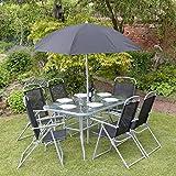 Garten Mile® 8 Stück Garten Terrasse Set Outdoor Dining Set U2013 6 Sitzer  Outdoor