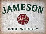 Jameson Whiskey Irish Bar-/Pub Schild, Man Cave, Retro-Wandschild aus...