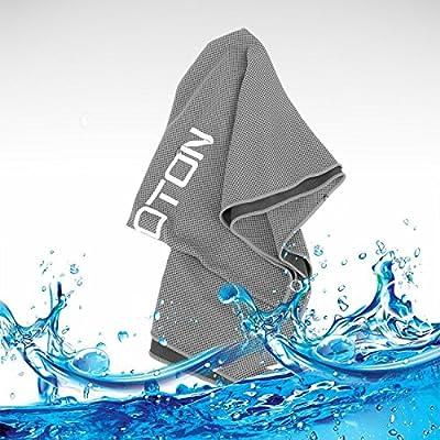 omoton Hightech-Kühlung Handtuch für sofortige relief-soft atmungsaktives Mesh Yoga towel-keep Cool für Laufen Radfahren Wandern und alle anderen Sport
