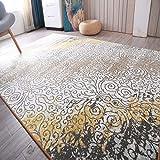 Lindou Wohnzimmerverzierung Amerikanischer Teppich Wohnzimmer Couchtisch Sofa Teppich Türkischer Stil Schlafzimmer Bedside Decke Volle Europäische Einfache Moderne (Farbe: Bo-012, Größe: D) Home Mat
