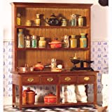 The Dolls House Emporium Large Dresser with Lower Shelf (W)