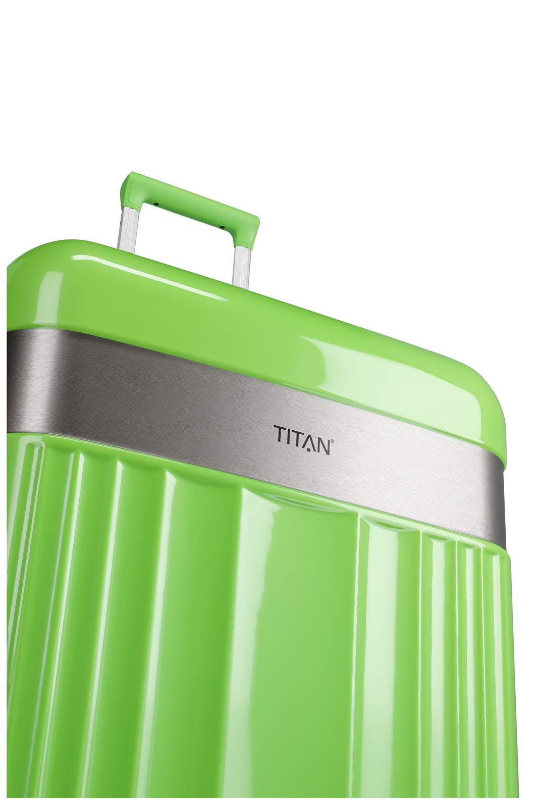 TITAN-Gepckserie-Spotlight-Flash-Edle-TITAN-Trolleys-und-Beautycases-in-knallbunten-Trendfarben-Koffer-Set-76-cm-208-Liter-Flashy-Kiwi