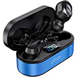 pTron Bassbuds Plus True Wireless Bluetooth 5.0 Headphones with Deep Bass, Made in India, IPX4 Water/Sweat Resistant, Passive