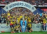 ARSENAL FC – FA Cup Winners 2015 - Football Wall Poster Print - 30CM X 43CM Brand New Champions F.C
