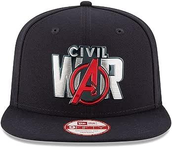 Marvel Captain America 3 Civil War Title Chrome 950 Snapback Baseball-Cap
