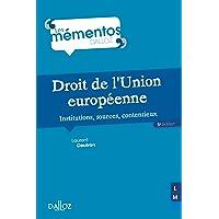Droit de l'Union européenne - 5e ed.: Institutions, sources, contentieux