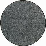 Fußmatte halbrund, anthrazit, 50x75 cm - (SLU6010-50X75 HALBRUND)