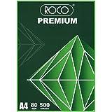 Roco Copy Paper, A4, 80 Gsm, 500 Sheets, White, 0375RCA4