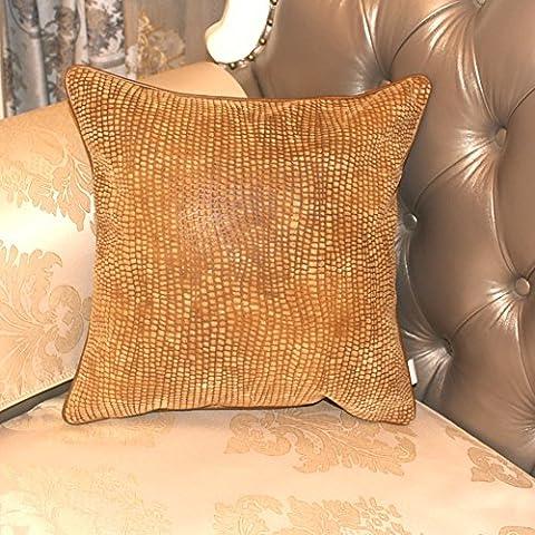 El European-style cuero copetudo almohada/[Cojín EPE]/Sofá cama abrazo almohada-C