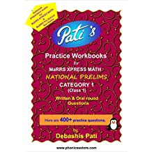 MaRRS XPRESS MATH - National Prelims - Category 1 (Class 1) … A set of 2 Practice Workbooks ... 400+ Written & Oral Round Questions are in 2 workbooks ... Limited copies available. Receive within 1 working day in Mumbai.