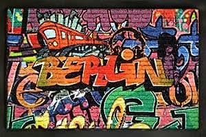 Paillasson design graffiti berlin de la marque for-collectors-only