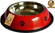 Foodie Puppies Stainless Steel Dog Food Bowl (Medium)