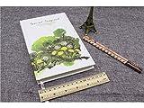 Personnel Personnel Agenda scolaire ordinateurs portables et revues papier livres pour l'école bureau bloc-notes (Vert)...