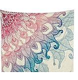 LvRao Drucken Tapisserie Wandteppiche Hippie-Tapisserie Stranddecke Decke Picknickdecke Tagesdecke Vorhang Decor Blume #1 L:203*153cm