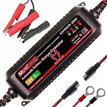 MOTOPOWER MP00207A 12V 2Amp Cargador / mantenimiento automático de batería automático para baterías de plomo y baterías de iones de litio