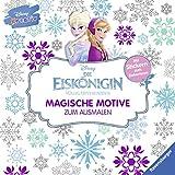 Disney kreativ: Die Eiskönigin - Magische Motive zum Ausmalen: Mit Stickern zum Dekorieren -