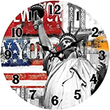 Póster Shop Cristal Reloj de pared, vidrio, vidrio, colorful, 38  x  38  x  3 cm