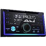 JVC KW-DB93BT Doppel-DIN CD-Receiver mit Digitalradio (DAB+), Bluetooth-Freisprechfunktion und Audiostreaming Schwarz