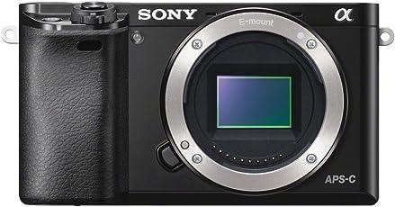 "Sony Alpha 6000 Systemkamera (24 Megapixel, 7,6 cm (3"") LCD-Display, Exmor APS-C Sensor, Full-HD, High Speed Hybrid AF) schwarz"