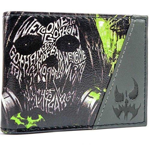 DC Comics Batman Arkham Knight Multicolore portafoglio
