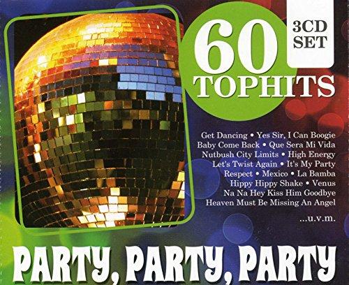 Preisvergleich Produktbild 60 Top-Hits - Party, Party, Party: Bacardi Mix / Samba De Janeiro / YMCA / I Will Survive / Born To Be Wild,  La Bamba / I Can Boogie / amo!