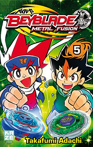 Beyblade Metal Fusion Vol.5 par ADACHI Takafumi