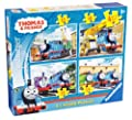 Ravensburger Thomas and Friends - Puzle (4 en 1), diseño de Thomas y sus amigos por Ravenburger