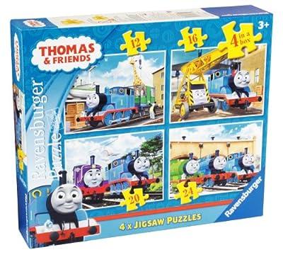 Ravensburger Thomas and Friends - Puzle (4 en 1), diseño de Thomas y sus amigos por Ravenburger
