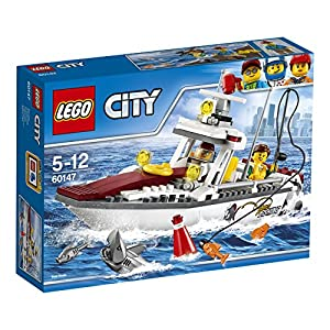 LEGO- City Great Vehicles Peschereccio, 60147 5702015865739 LEGO
