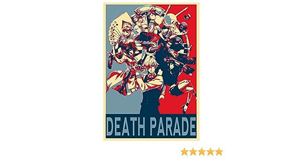 JCYMC Leinwand Bild Japan Anime Death Parade Art Poster Und Drucke Wanddekoration Geschenk Zh63Jy 40X60Cm Rahmenlos