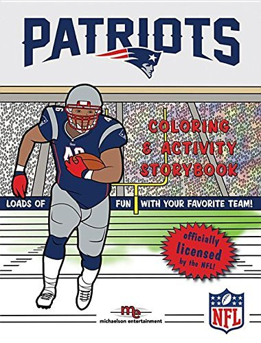 New England Patriots Coloring & Activity Storybook by Brad M. Epstein (2015-06-20)