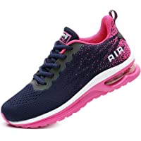 FLARUT Unisex Uomo Scarpe da Ginnastica Corsa Sportive Fitness Donna Running Sneakers Basse Interior Air Casual all…