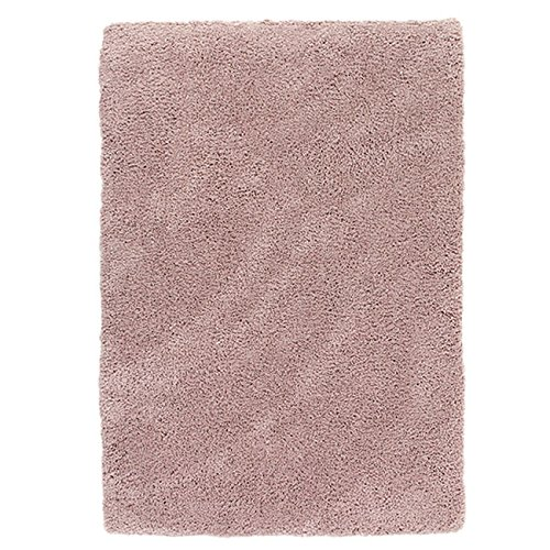 Thedecofactory alfombra Extra suave, poliéster, rosa, 90x 60x 2cm